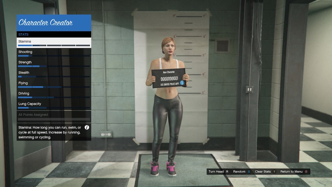Below is a guide on how to think about the stats as you're creating your GTA Online character.