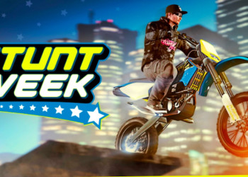 It's Stunt Week for the April 4th GTA Online update