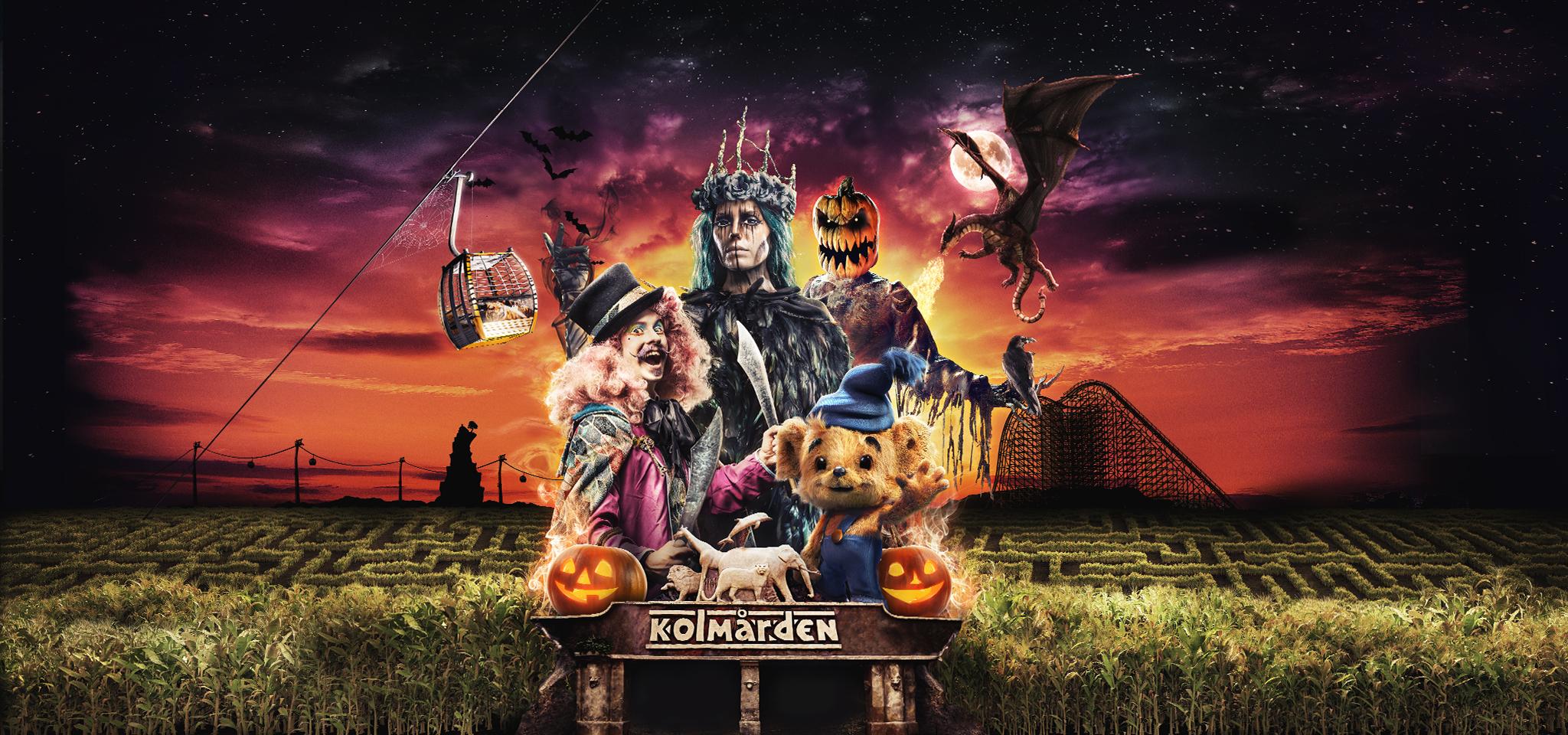 Halloween på Kolmården