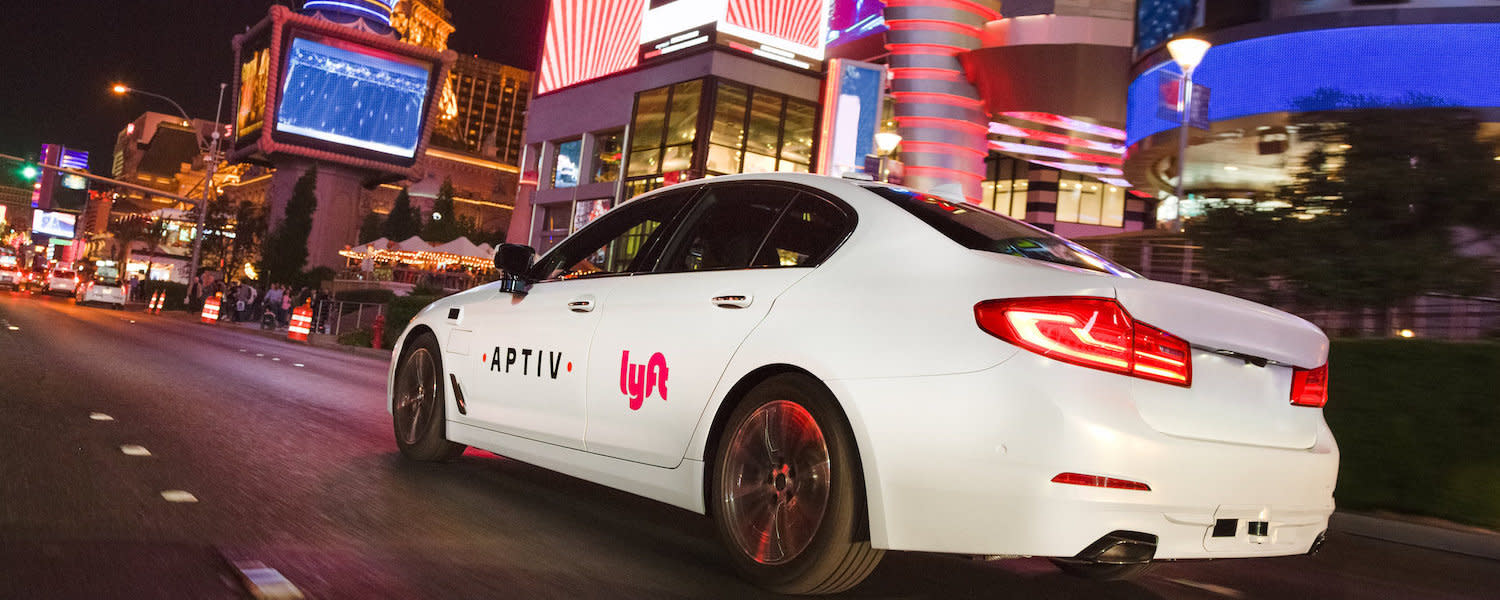 Lyft and Aptiv Self Driving Car Blog Hero