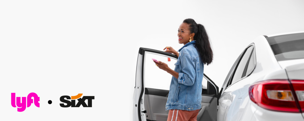 Lyft Partners with SIXT