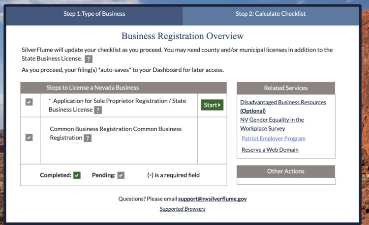 Nevada State Business License How-To Guide - The Hub