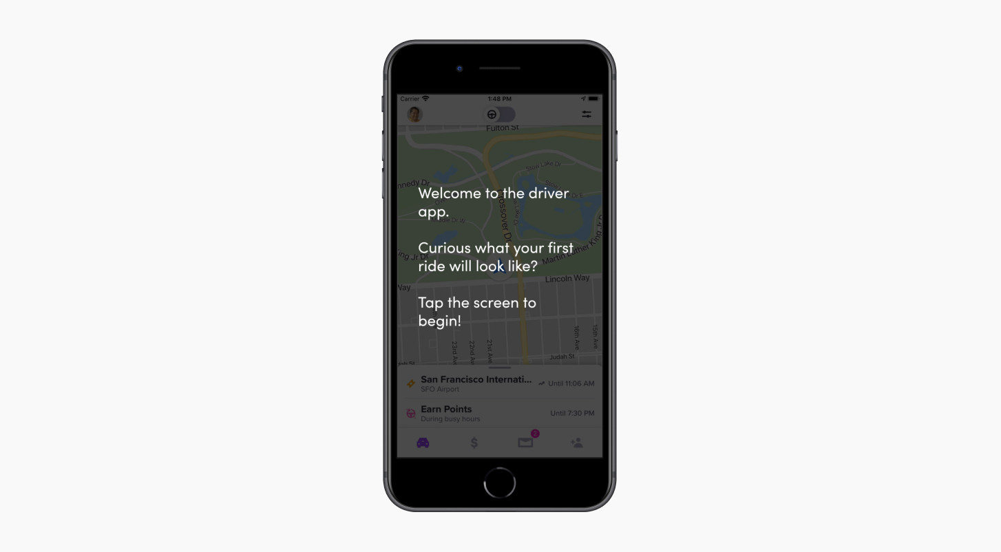 How To Use The Lyft Driver App Driver Education Lyft The Hub