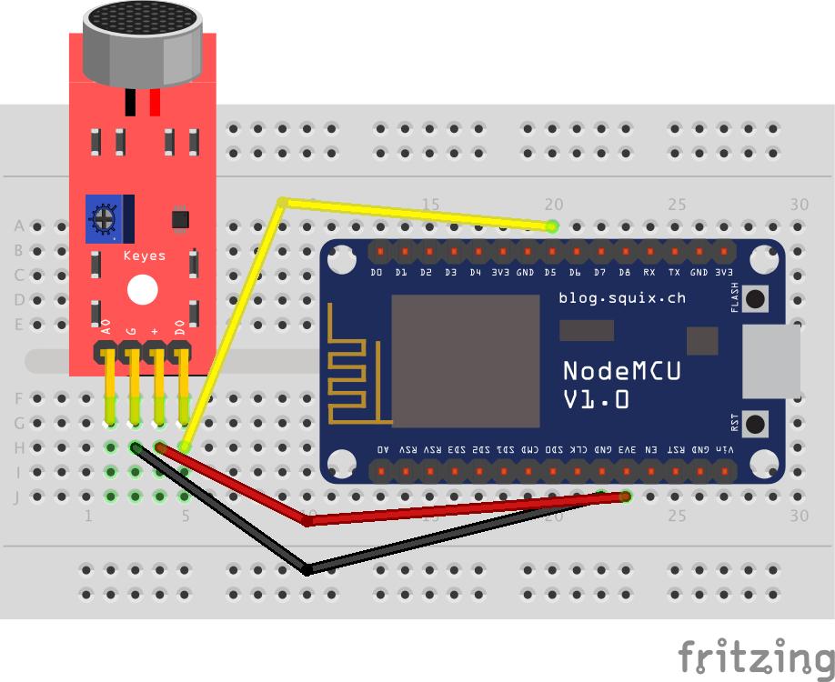🎙 Detecting sound level using ESP8266 and ESPHome