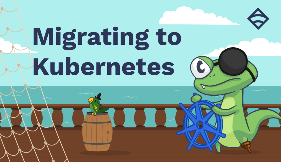 Migrating to Kubernetes, captained by Sensu mascot Lizy