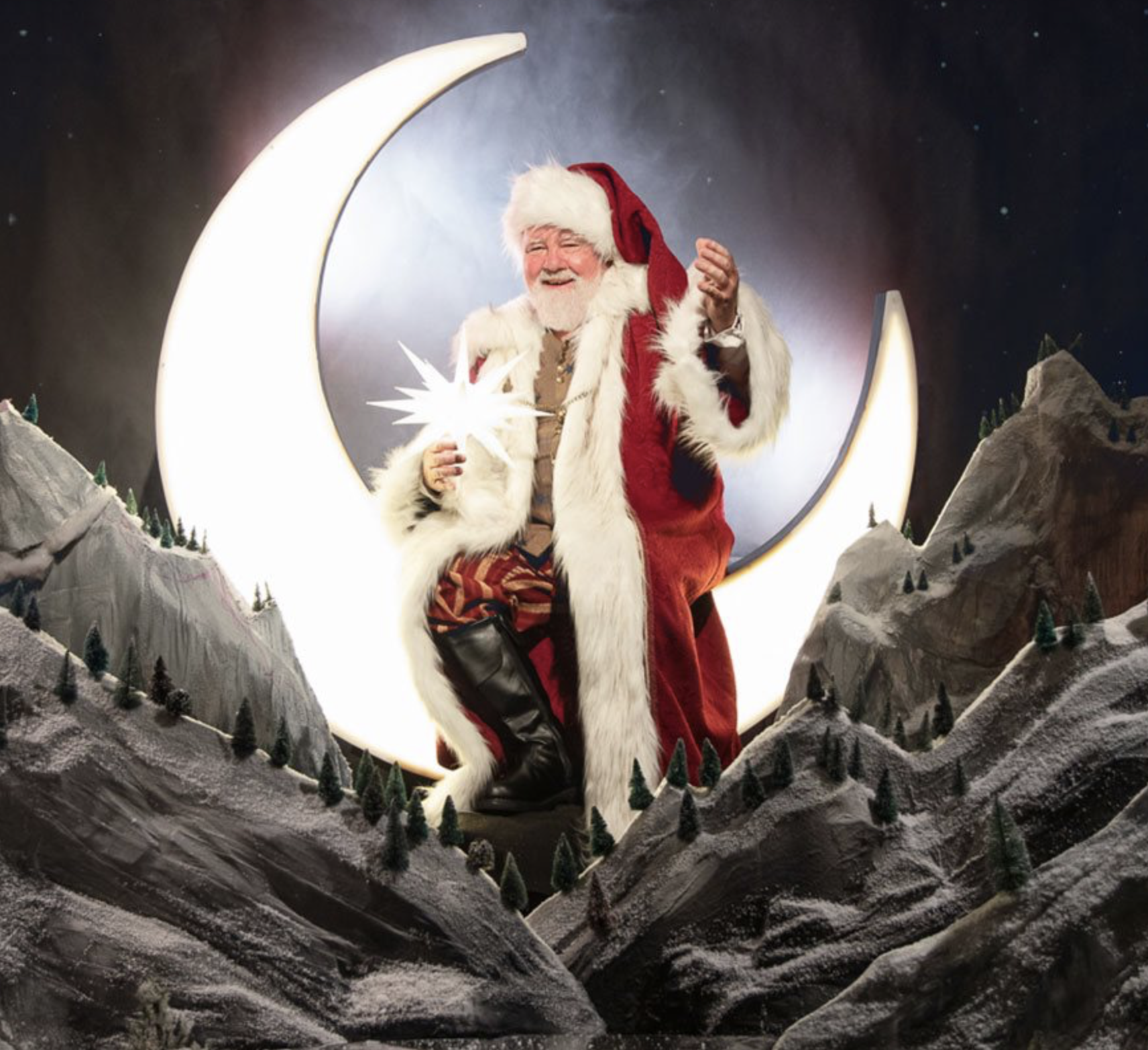 Santa's Landing at Enchant