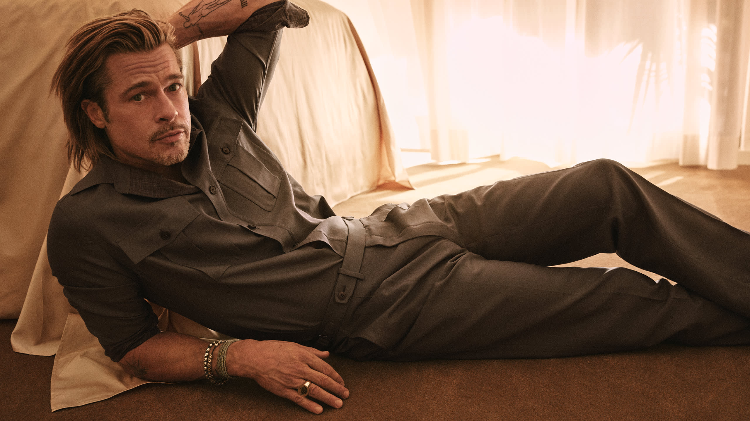 Brad Pitt Advertising Campaign Spring/Summer 21 | Brioni® CZ Official Store