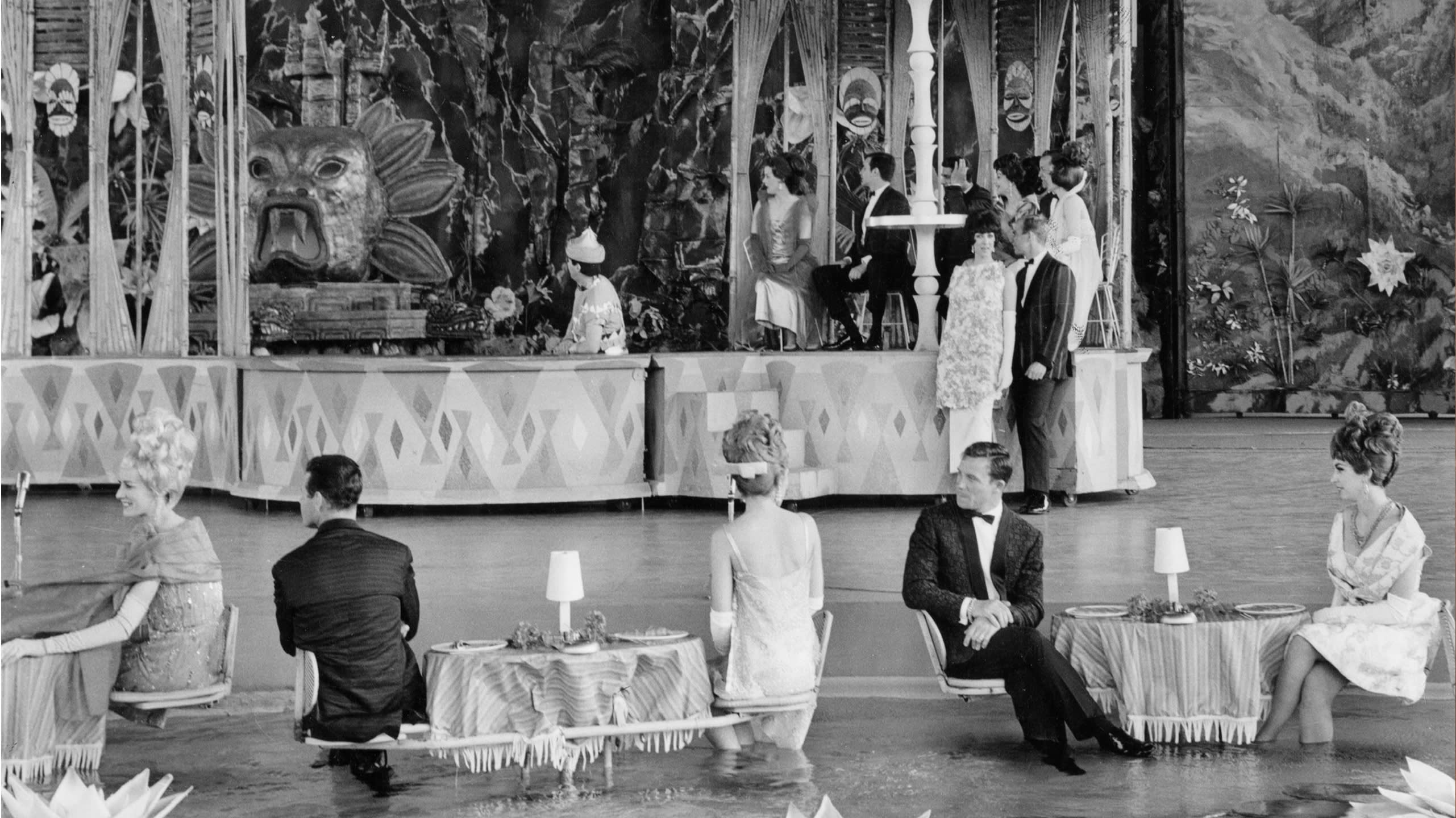 Brioni designs shown at the Waldorf-Astoria during the World's Fair in New York City, 1964