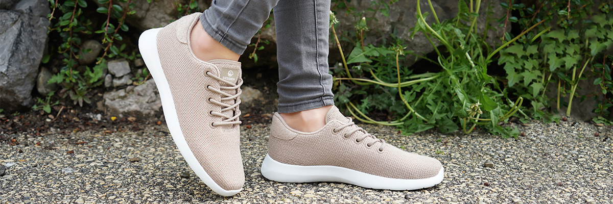 stylish casual sneakers with arch support