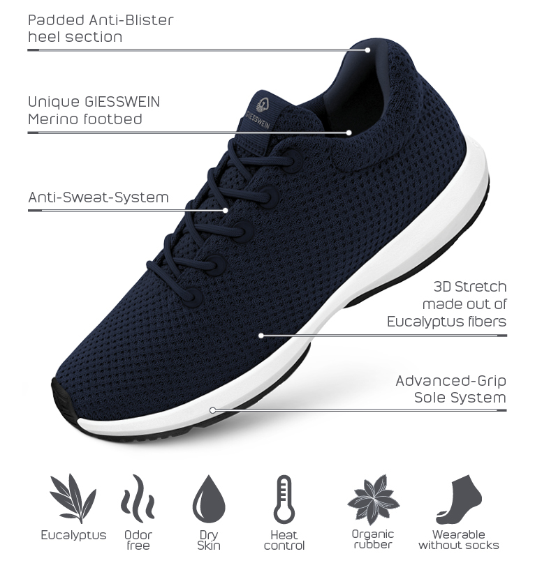 Sustainable and comfortable Wood Sneaker