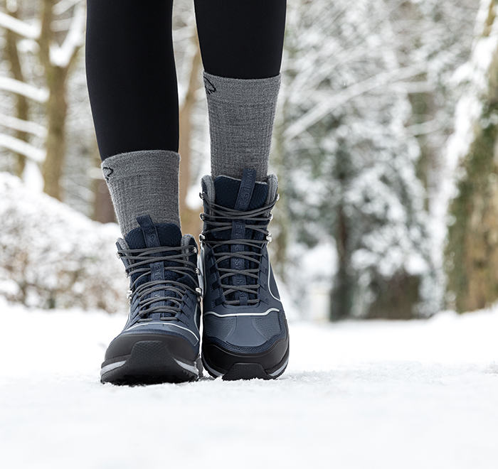 walk comfortably all year in your walking boots