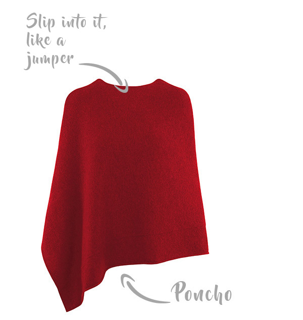 what is a poncho