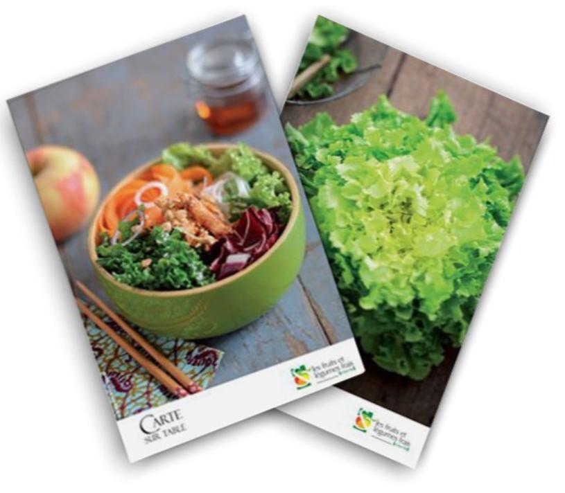 Recettes fruits et légumes