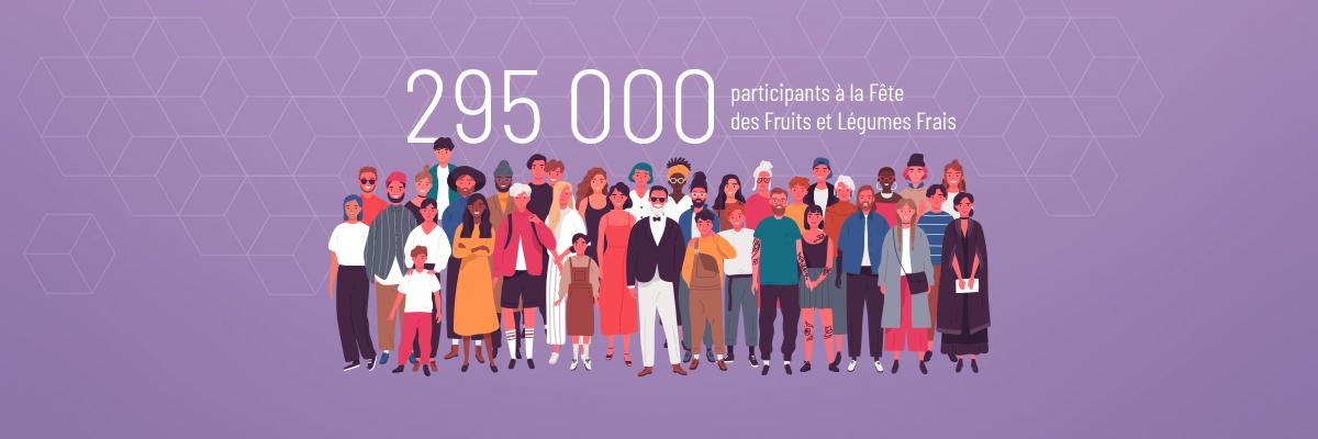 295 000 participants image
