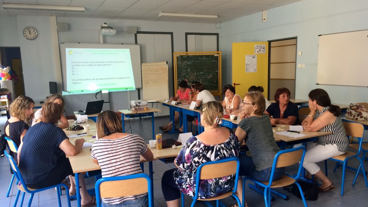 Formation gaspillage alimentaire