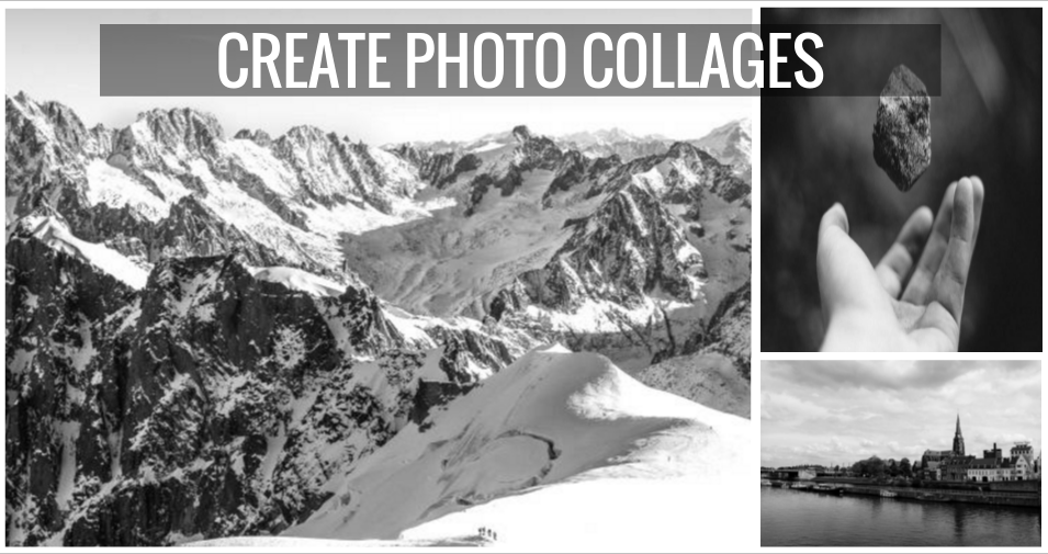 Create Photo Collages Using Vectr