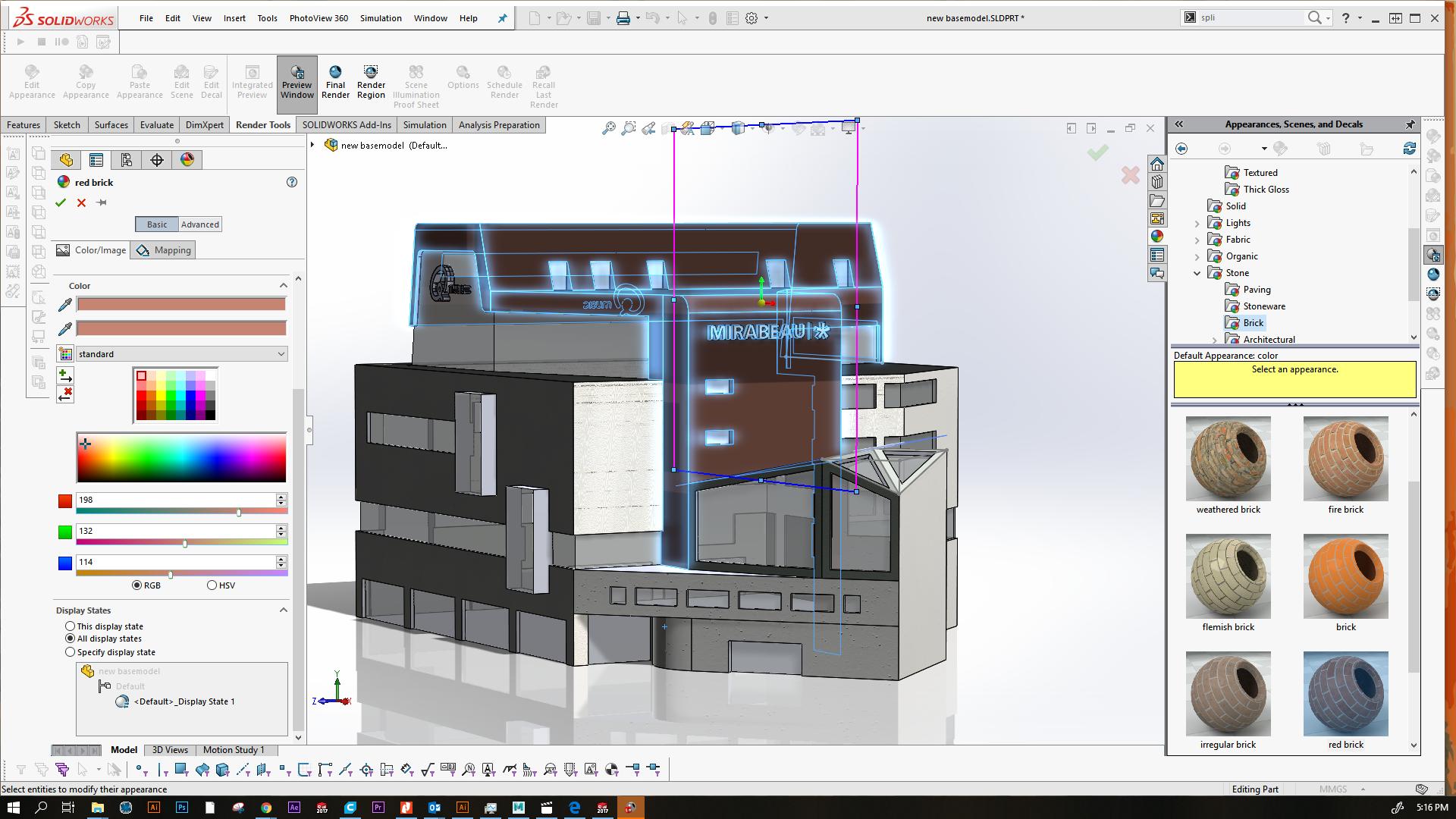Mirabeau KBF building design