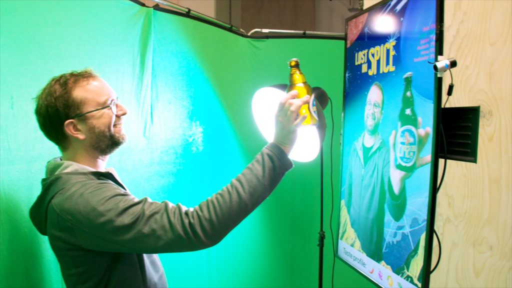 beerrecognition greenscreen