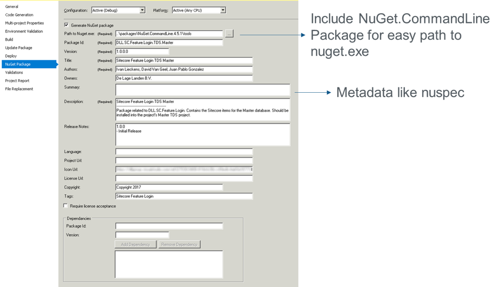 Using NuGet in Sitecore Solutions
