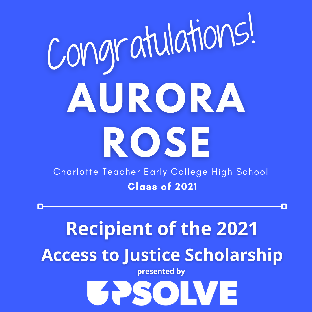 2021 Access to Justice Scholarship Recipient Announcement