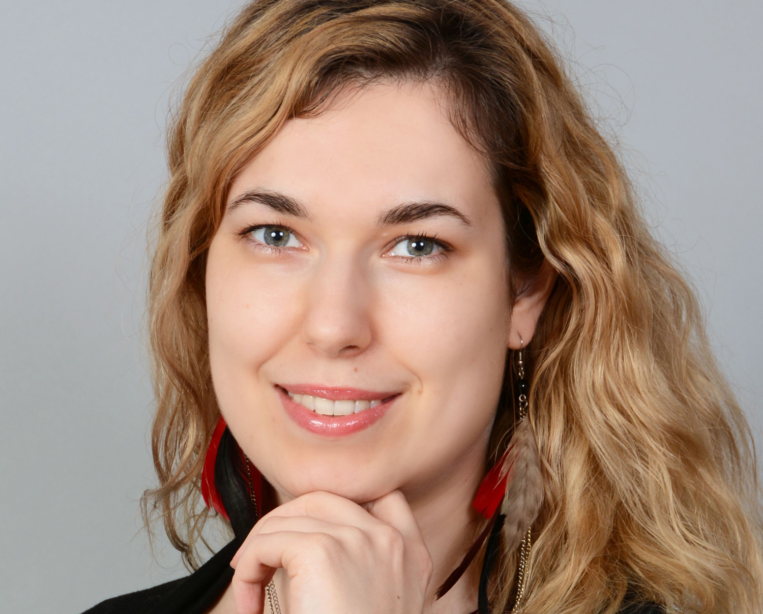 Portrait of Ewa Turska from the Making Waves Kraków office.