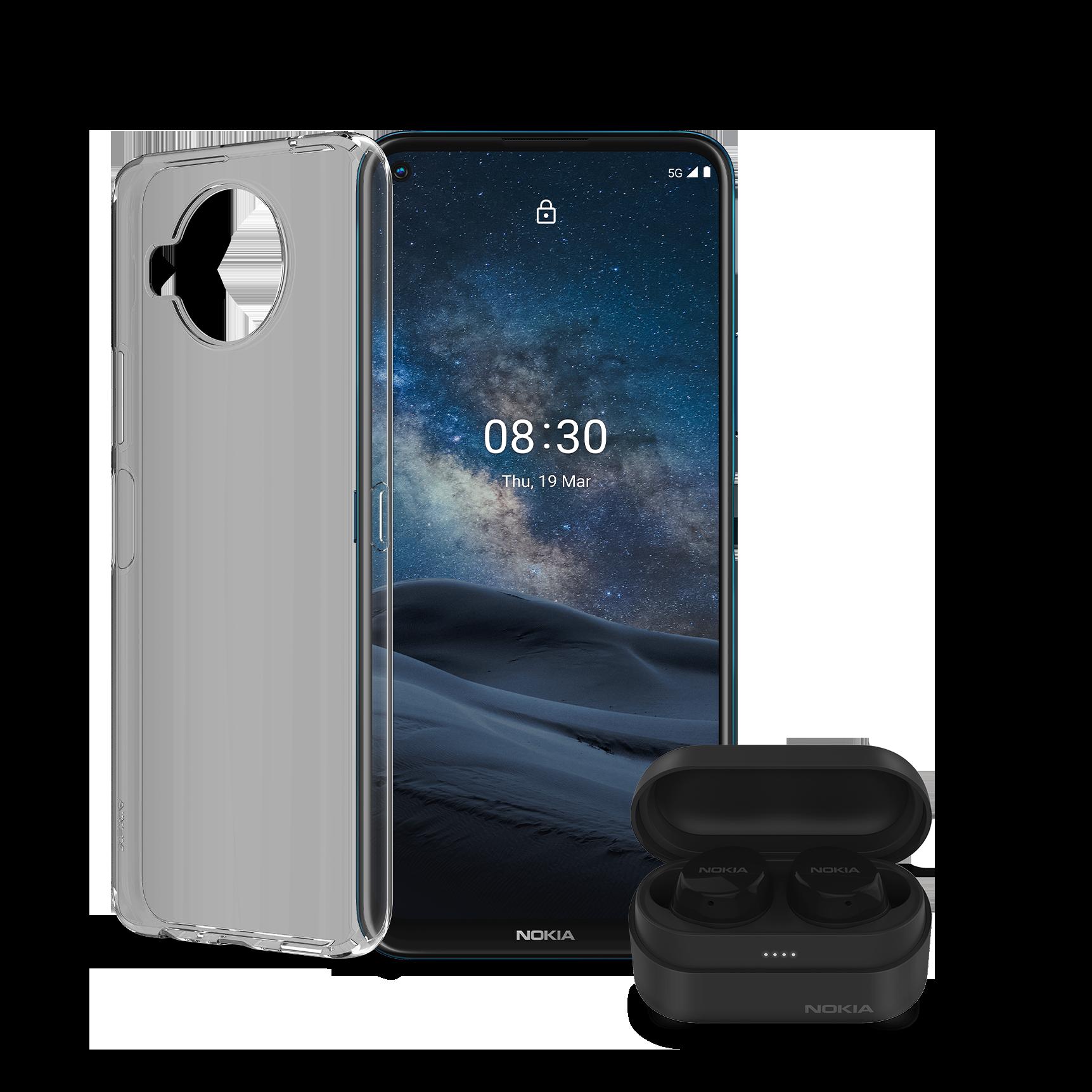 Nokia 8.3 5G | 128 GB + 2 lisävarustetta