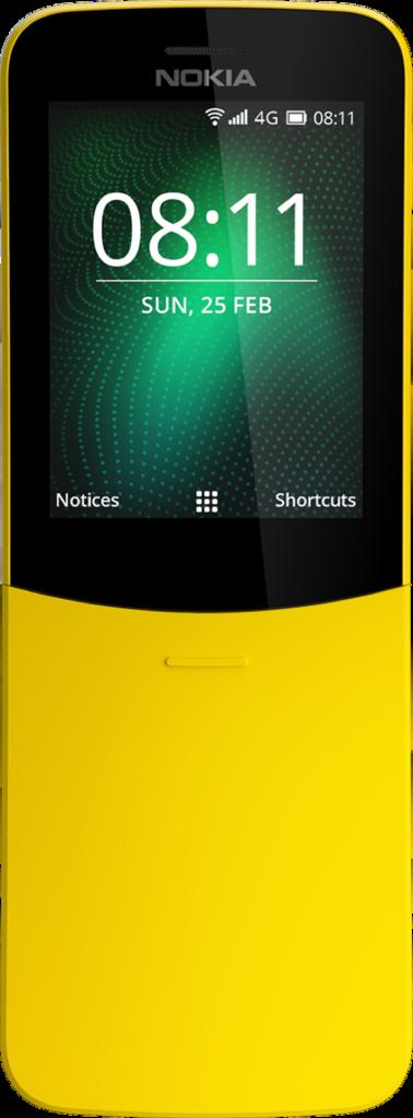 nokia банан 8110 характеристики