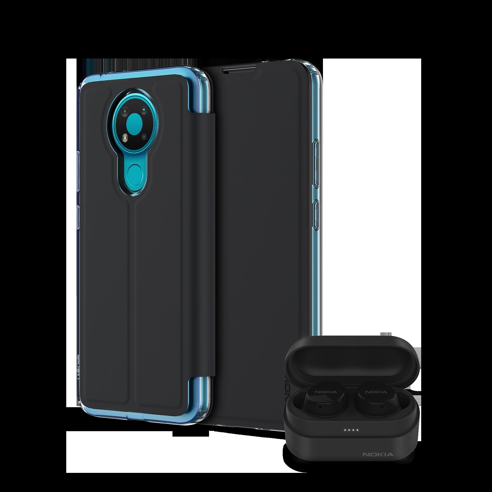 Nokia 3.4 + 2 accessories
