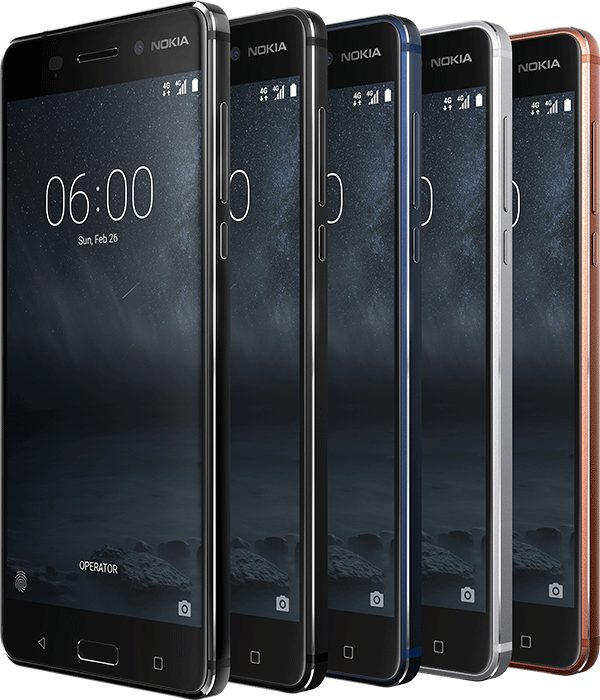 Nokia 6 – Android phone with a metal body