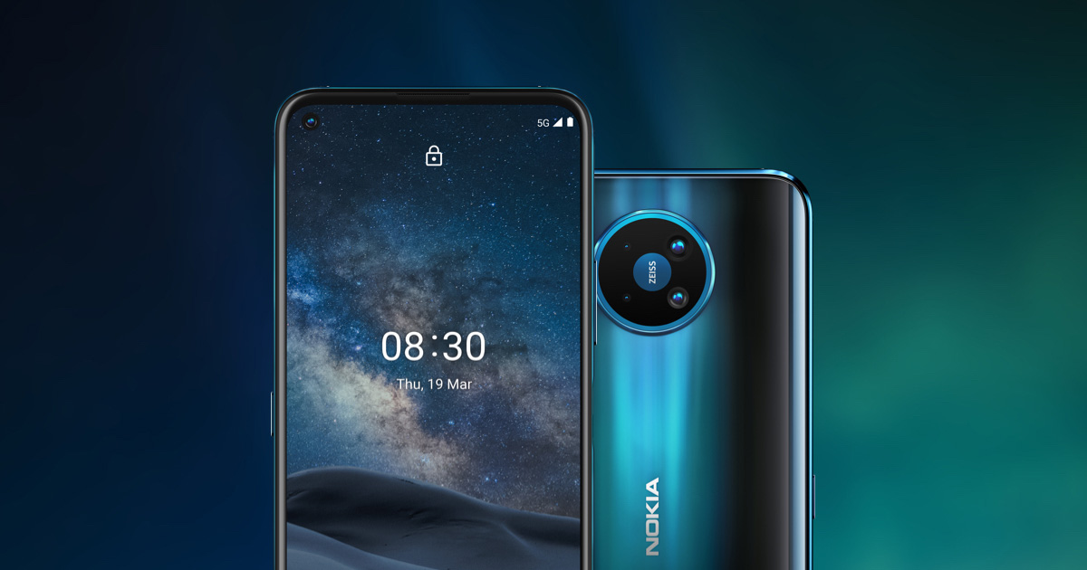 Nokia 8.3 5G افضل هواتف نوكيا