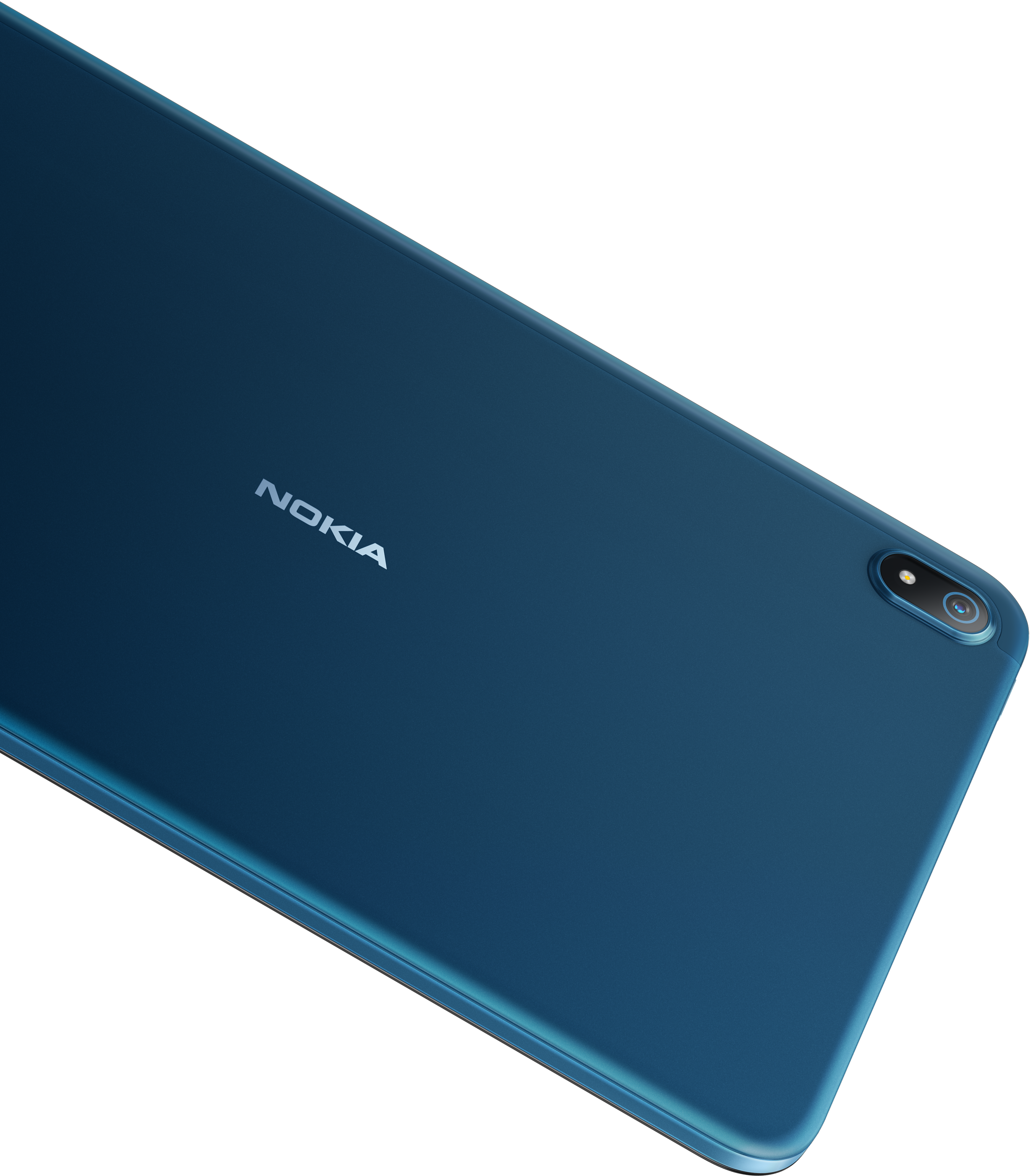 The back of the Nokia T20 tablet