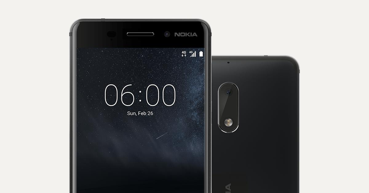 Nokia 6 – Android-puhelin saumattomalla metallirungolla | Nokia puhelimet Suomi | Suomi - Suomi