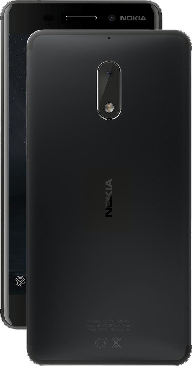 nokia 6 color variant matte black png