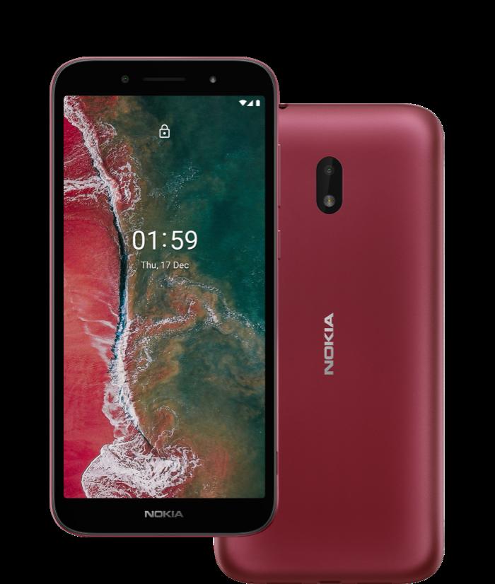 Nokia C1 Plus: El más económico con soporte 4G