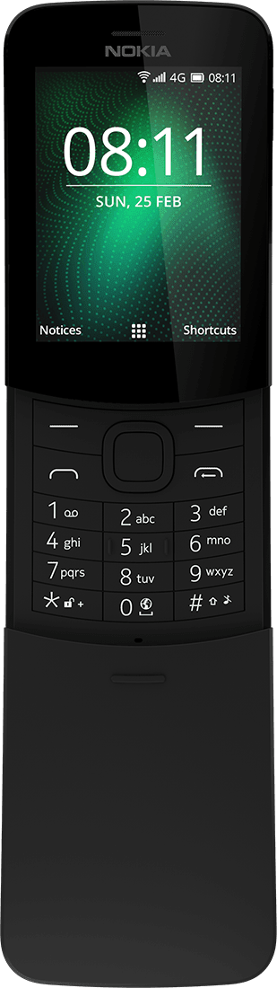 Buy Nokia 8110 4G mobile | Nokia phones | International - English