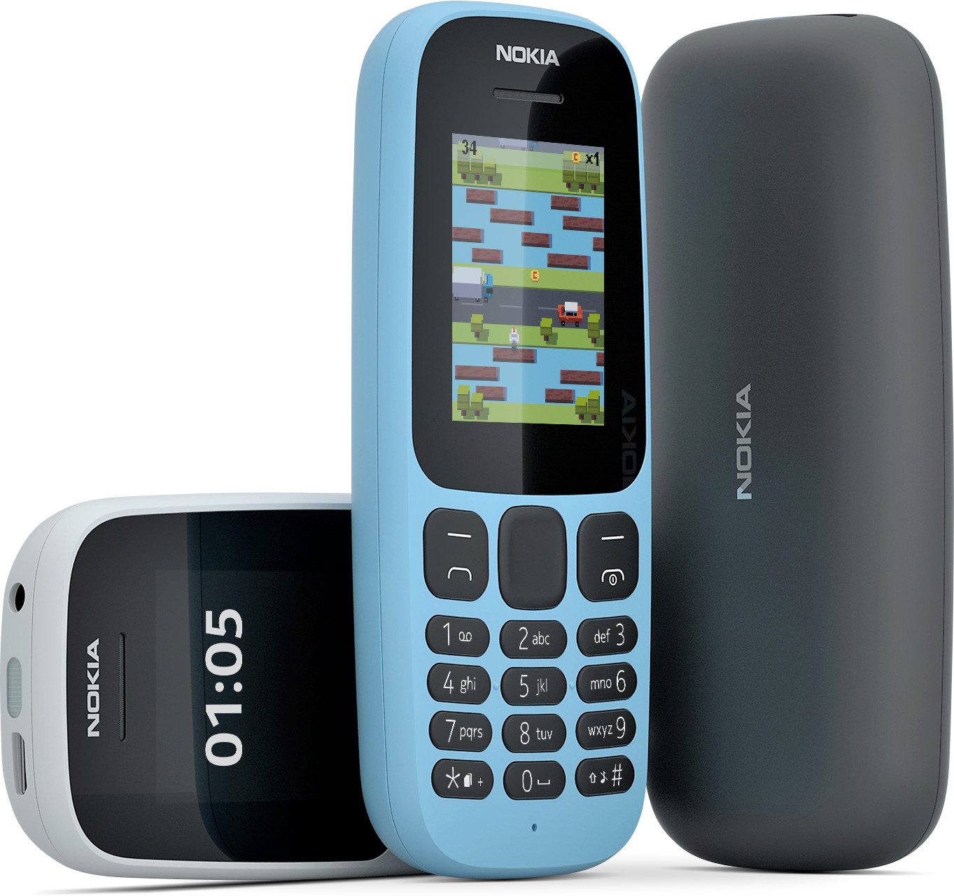 Desain Nokia 105 2017