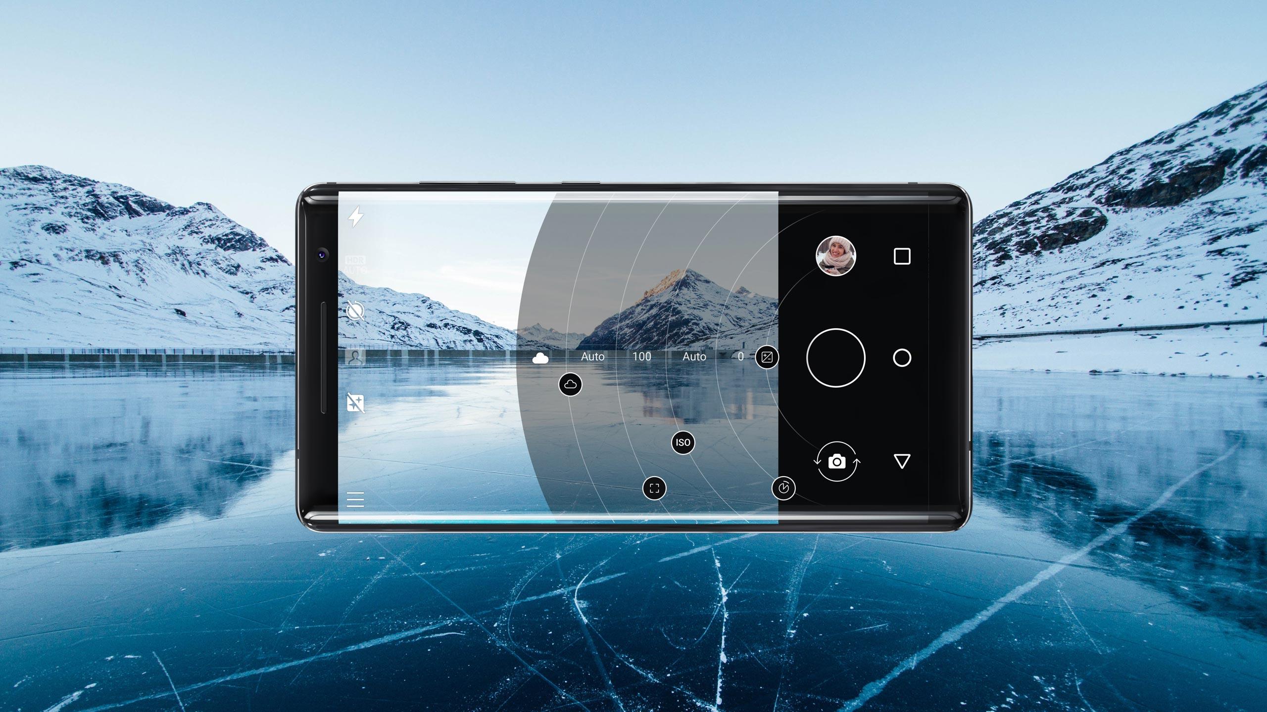 Nokia 8 Sirocco相机界面