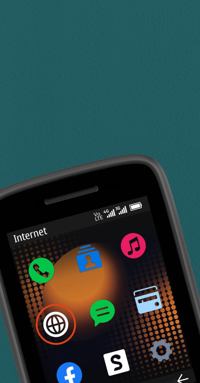 Мобильный телефон Nokia 215 4G 2