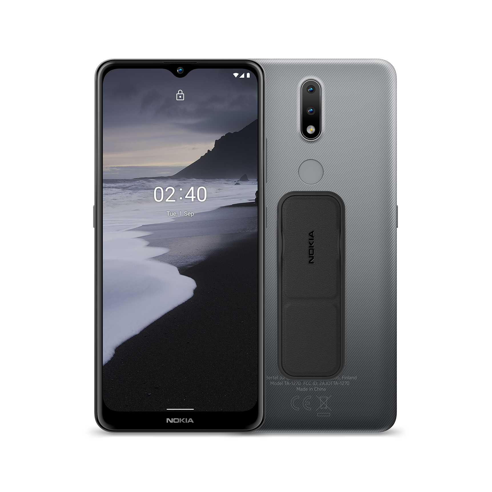 Nokia 2.4 + Nokia Grip and Stand Bundle