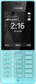 Nokia 105 blue cut out