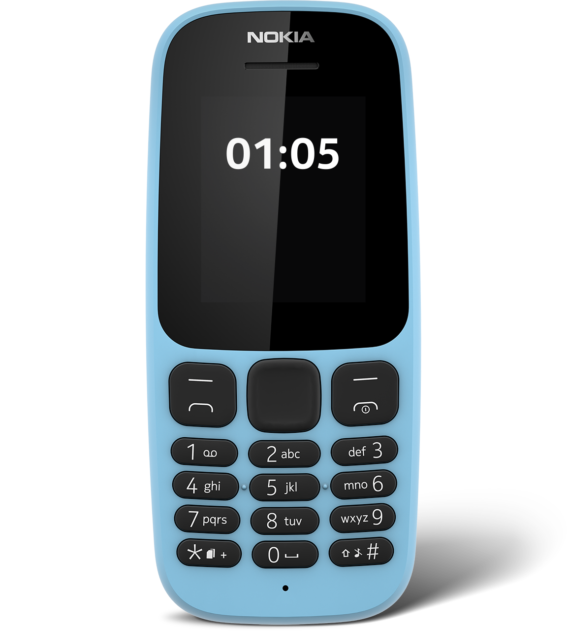 nokia 105 sim free mobile phone 2017 edition black ebay. Black Bedroom Furniture Sets. Home Design Ideas