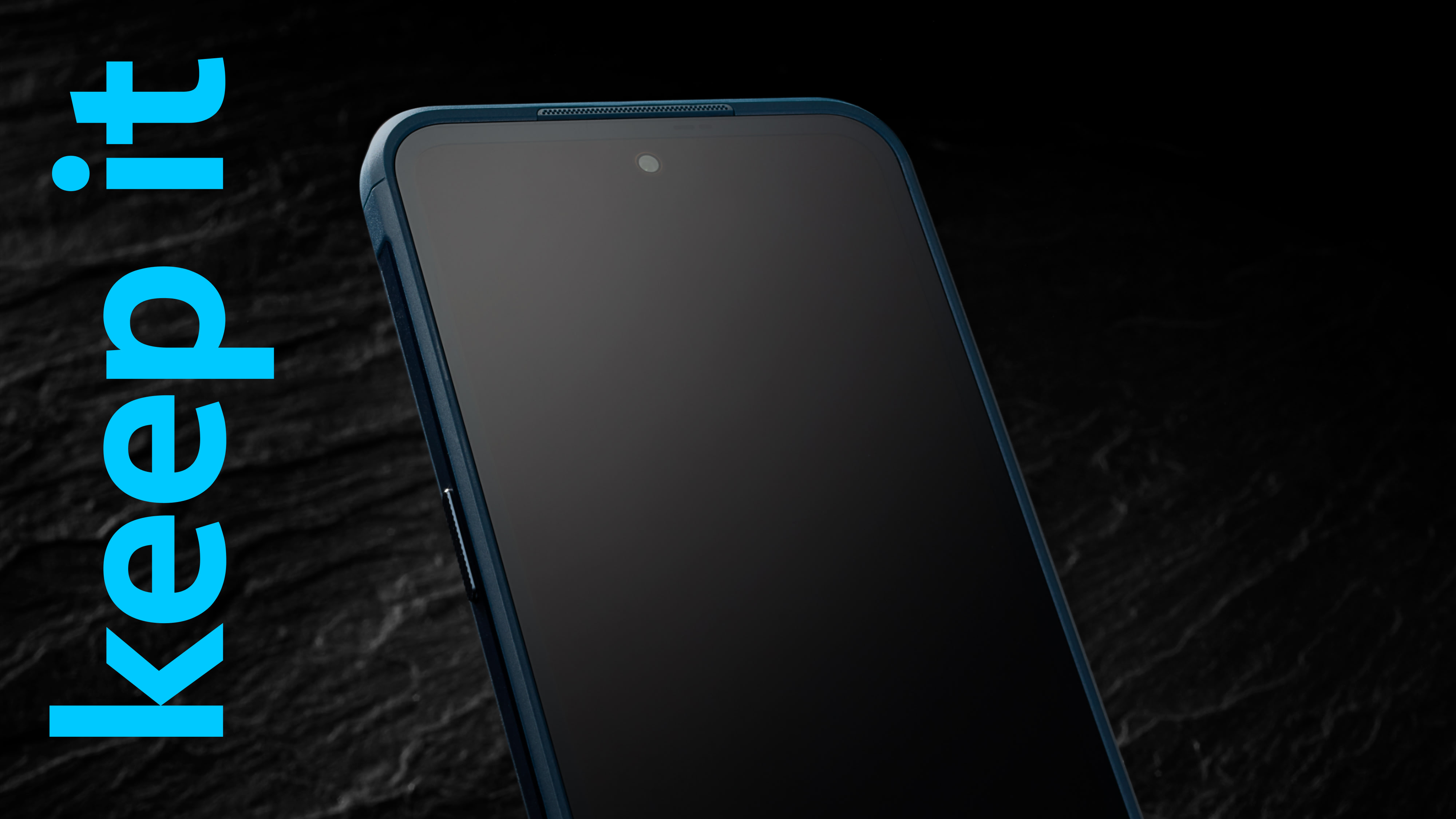 The display of the Nokia XR20 featuring Corning® Gorilla™ Glass Victus™.