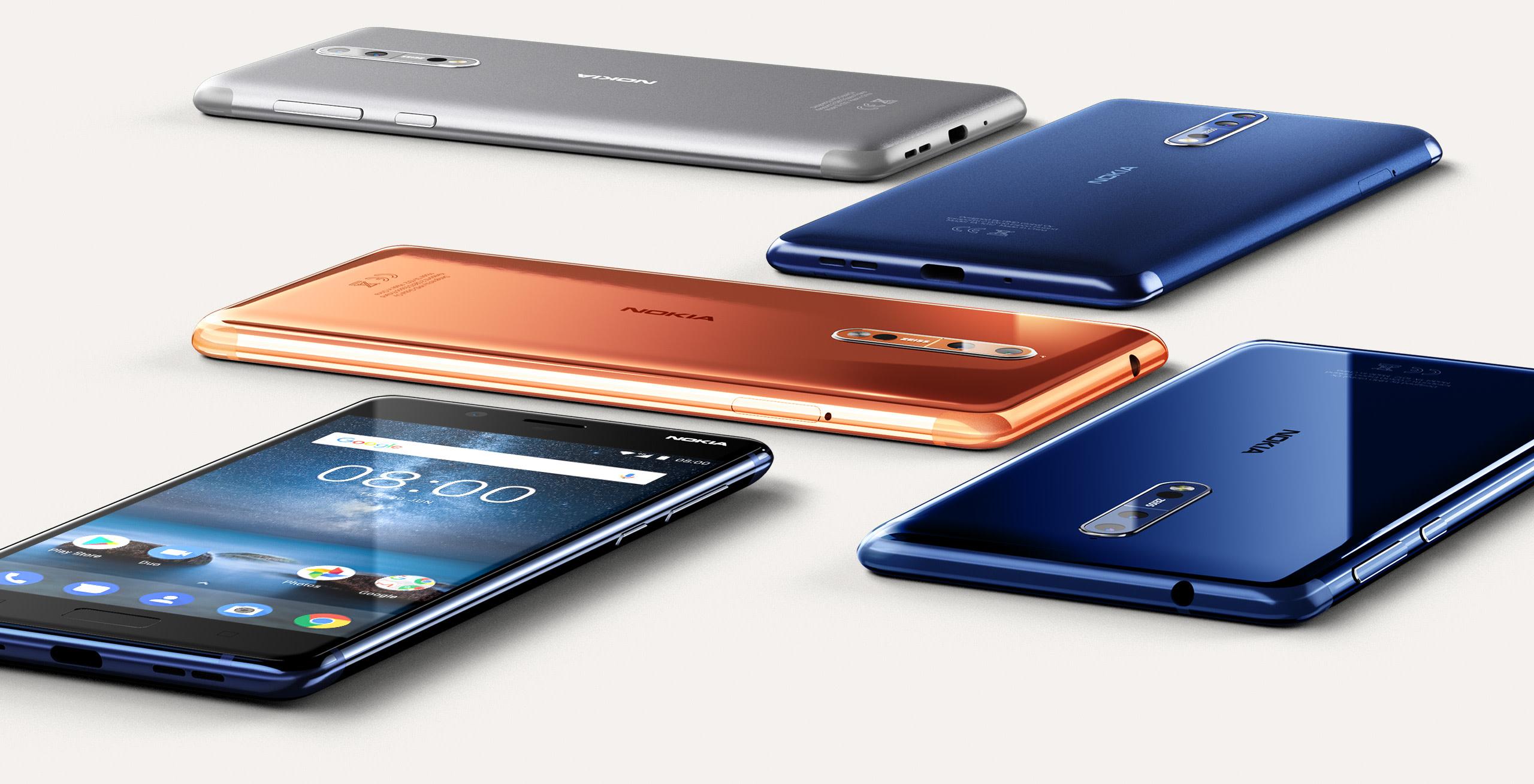 Nokia_8-design HMD Global szykuje Nokię 8 z mocniejszą specyfikacją