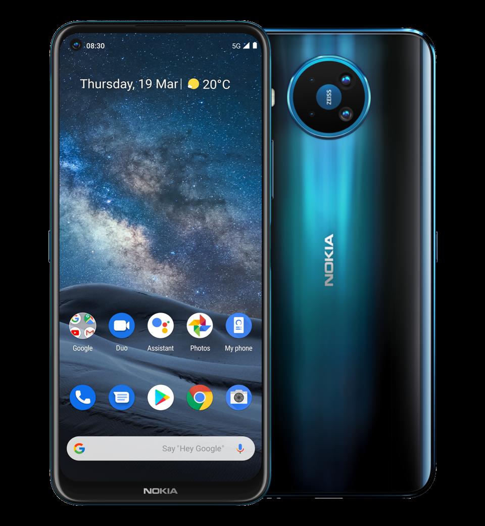 Nokia 8 3 5g Smartphone With 64mp Quad Camera Nokia Phones International English
