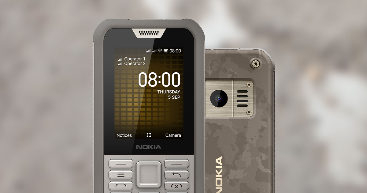 Nokia 800 Tough Phones