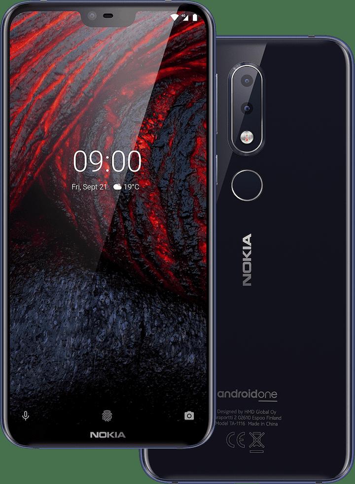 Nokia 6.1 Plus Dual Sim-Black