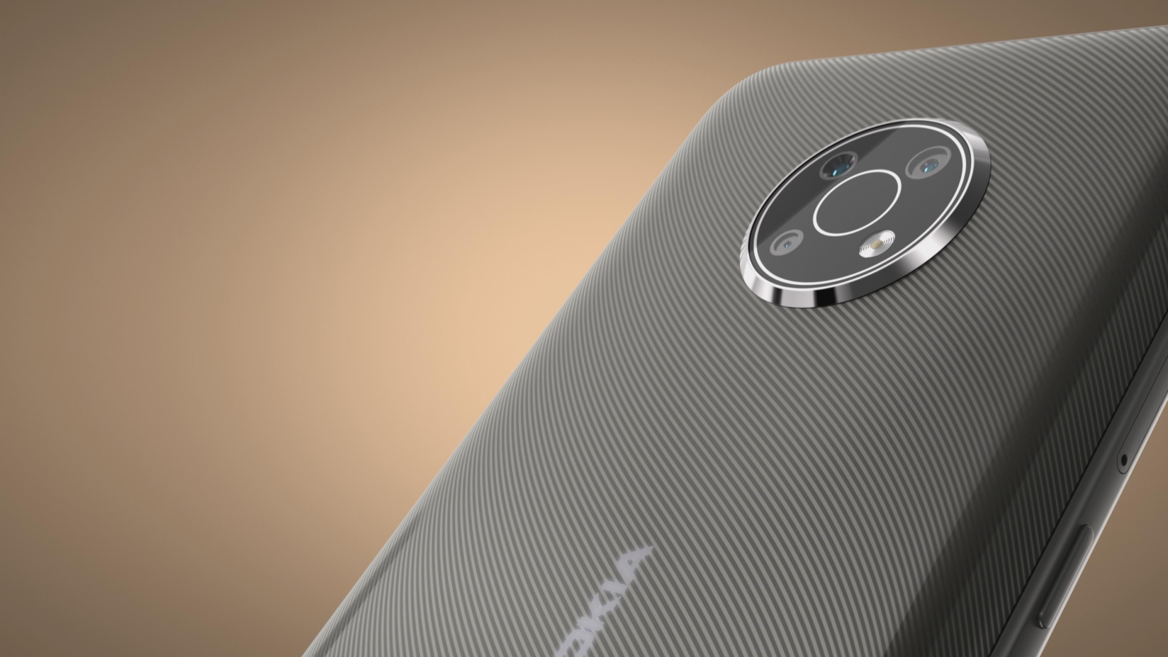 Nokia G300 rear cameras