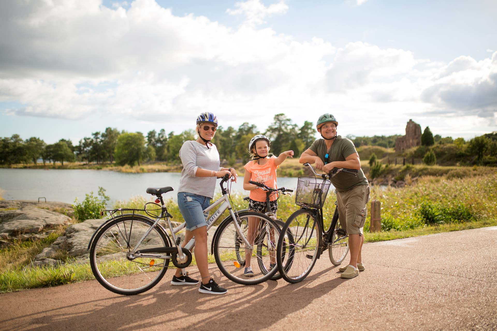 Eva Ramstedt Kakkakaffe Cykla på Åland 2017.