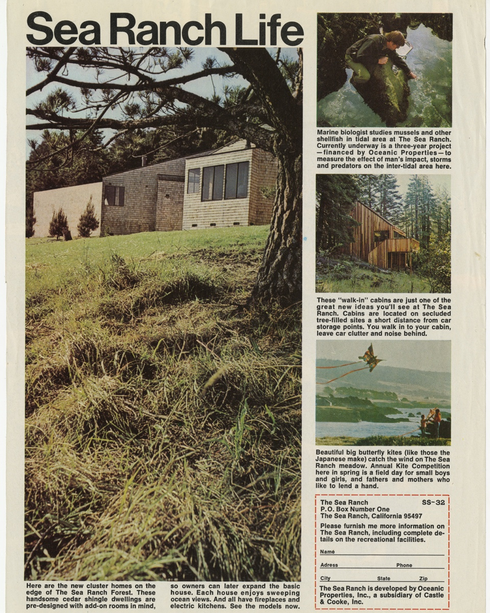 """Sea Ranch Life"" via the Lawrence Halprin archive at the University of Pennsylvania."
