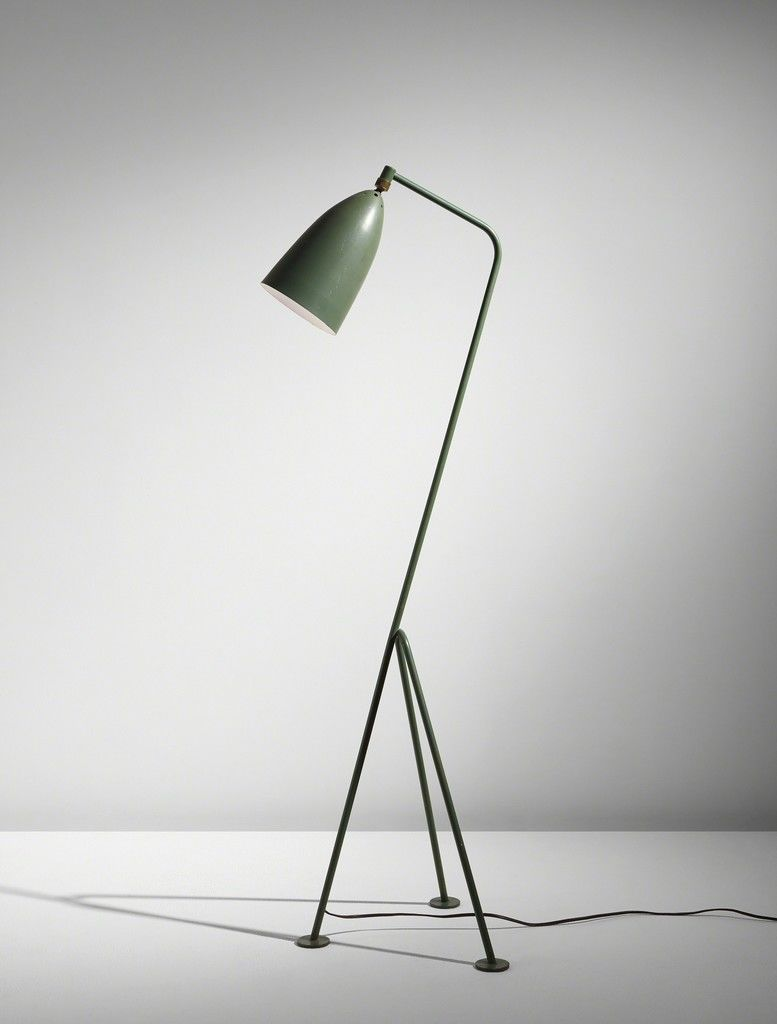 The Grasshopper Lamp, still a mid century classic. Image via Artsy.